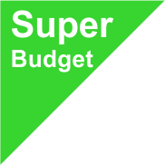 Grote Super Budget Medaille