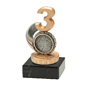 Antiek zilveren Budget Trophy nr. 3