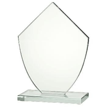 Glazen standaard 5-hoek