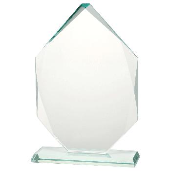 Glazen standaard 7-hoek