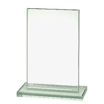 Glazen standaard rechthoek