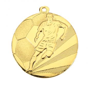 Budget voetbal medaille middelgroot