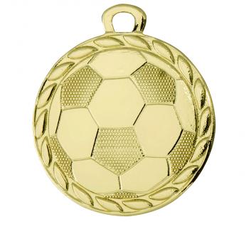Gouden voetbal medaille