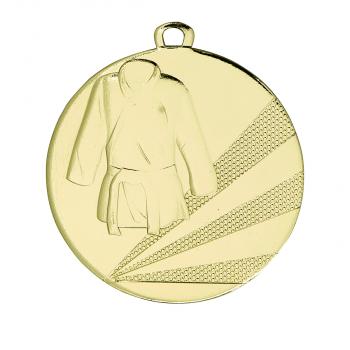 Medaille judo middelgroot