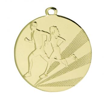 Medaille hardlopen middelgroot