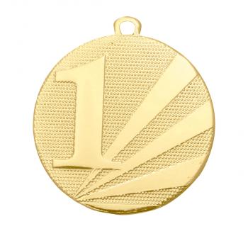 Nummer 1 medaille goud