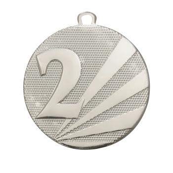 Nummer 2 medaille zilver