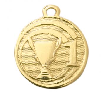 Gouden nr. 1 medaille klein