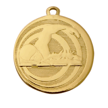 Middelgrote medaille zwemmen