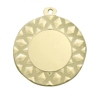Medaille met X-patroon