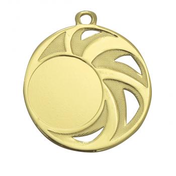Medaille met open details