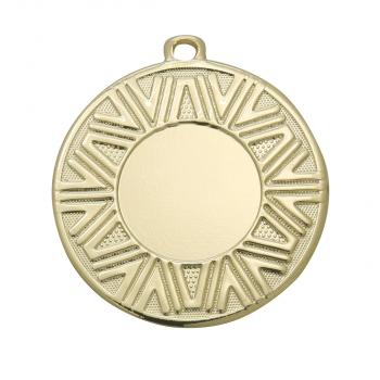 Medaille met grafische rand