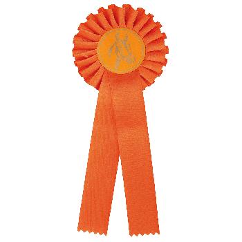 Rozet oranje paardensport