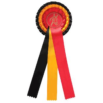 Rozet Belgische vlag paardensport