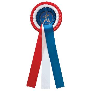 Rozet Nederlandse vlag paardensport
