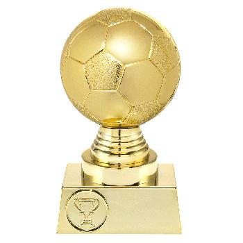 Gouden voetbal trofee