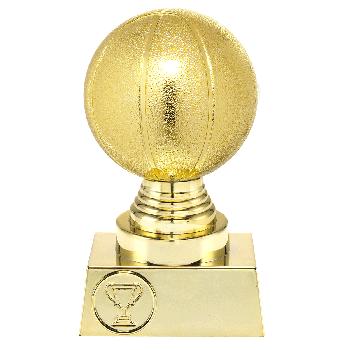 Gouden basketbal trofee