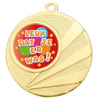 Grote medaille Kinderfeestje – 50mm