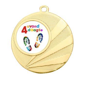 Avondvierdaagse medaille goud