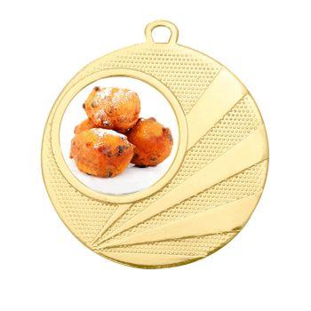 Oliebollenloop medaille