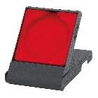 medaille doosje rood 70mm