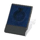 Medailledoosje blauw 40 45 50mm