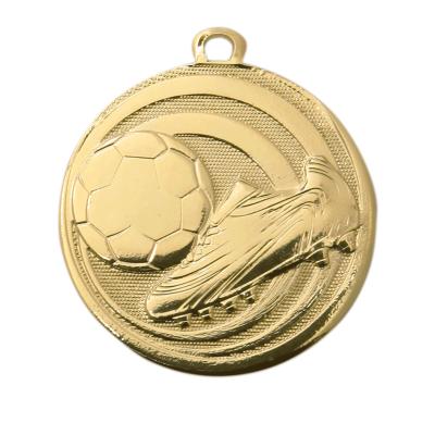Budget voetbal medaille klein